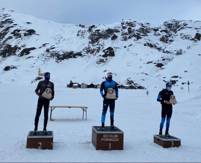 Imanol Rojo ganador de  la OPA Alpen Cup de 15 kilómetros Clásico en Val Formazza