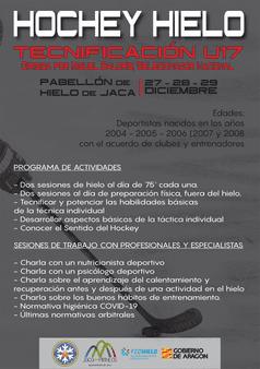TECNIFICACIÓN DEPORTIVA HOCKEY HIELO U17
